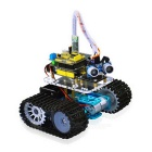 Keyestudio Bluetooth Mini Tank Robot Smart Car Kit - Svart + Gul