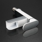 F-3919 Brass Chrome LED Bathroom Sink Faucet - Silver + White