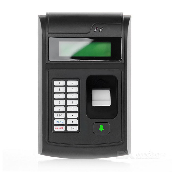 Fingerprint Standalone Access Control / Entrance Guard - Black