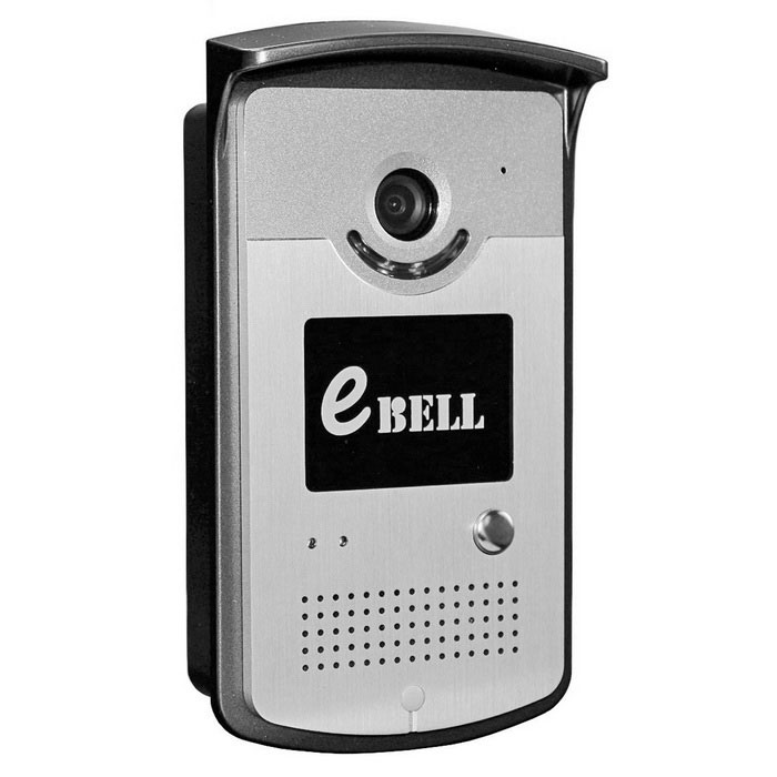eBELL Wireless Video Doorbell w/ Full Duplex Audio - Silver (UK Plug)Doorbells<br>ModelATZ-DBV03PForm  ColorSilverMaterialAluminum alloy + plasticQuantity1 DX.PCM.Model.AttributeModel.UnitPower AdaptorYesPower SupplyAC 220VBattery included or notNoPower AdapterUK PlugRate Voltage12VRated Current1.5 DX.PCM.Model.AttributeModel.UnitCertificationCE, FCC, RoHSOther FeaturesIP55 WaterproofPacking List1 * Wi-Fi video doorbell1 * 12V 1.5A UK plug power adapter (Cable: 150cm) 1 * English user manual1 * 19cm 2-pin power exchange cable1 * 9cm 5-pin lock connection cable5 * Screws 4 * Rubber plugs<br>