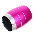 PINDO PD P-M3 Children's Bluetooth Speaker w/ TF Card Slot - Deep Pink