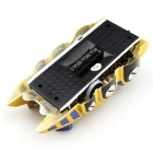 JJRC Q4 Rechargeable 4-CH RC Wall Climbing Climber Car Toy - Golden