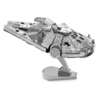 DIY 3D Puzzle Assembled Model Of The Millennium Falcon Toy - Silver