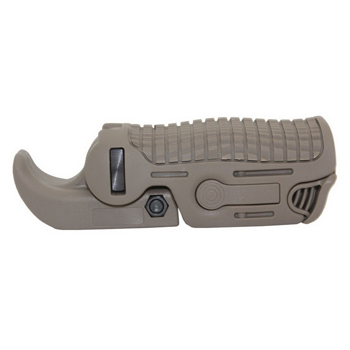 FAB Defense Tactical Weaver Picatinny Folding Grip - Mud ColorOther Accessories<br>Form  ColorTanMaterialAluminumQuantity1 DX.PCM.Model.AttributeModel.UnitGun TypeAll Rifles, PistolPacking List1 * Wrap<br>