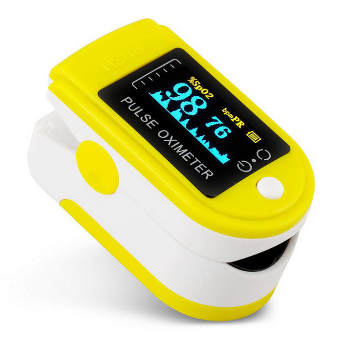 jzk-301 OLED Finger Pulse Oximeter  Heart Rate Monitor