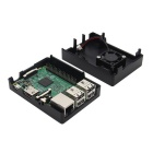 ABS Case for Raspberry Pi 3 Model B Board - Black