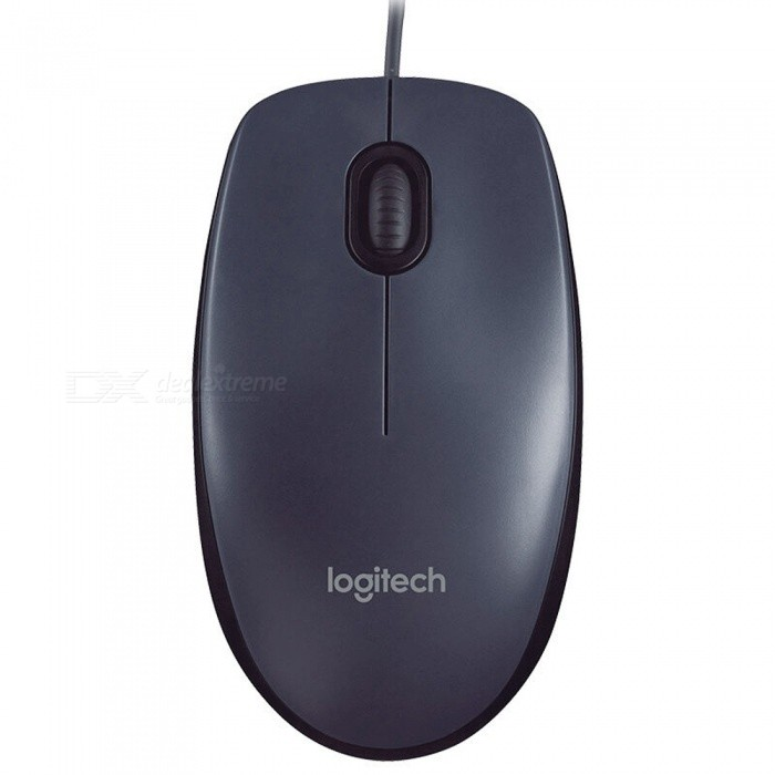 Logitech M90 Universal 1000dpi USB 2.0 Wired Mouse - Black