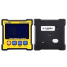High-precision Dual-axis Digital Protractor - Yellow + Grey