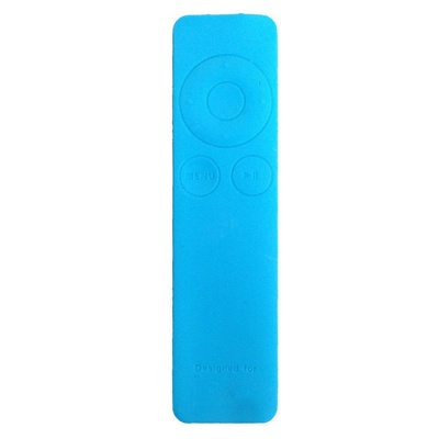 Dustproof Silicone Cover for Apple TV 3 Remote Controller - Blue