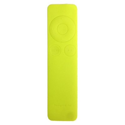 Dustproof Silicone Cover for Apple TV 3 Remote Controller - Green