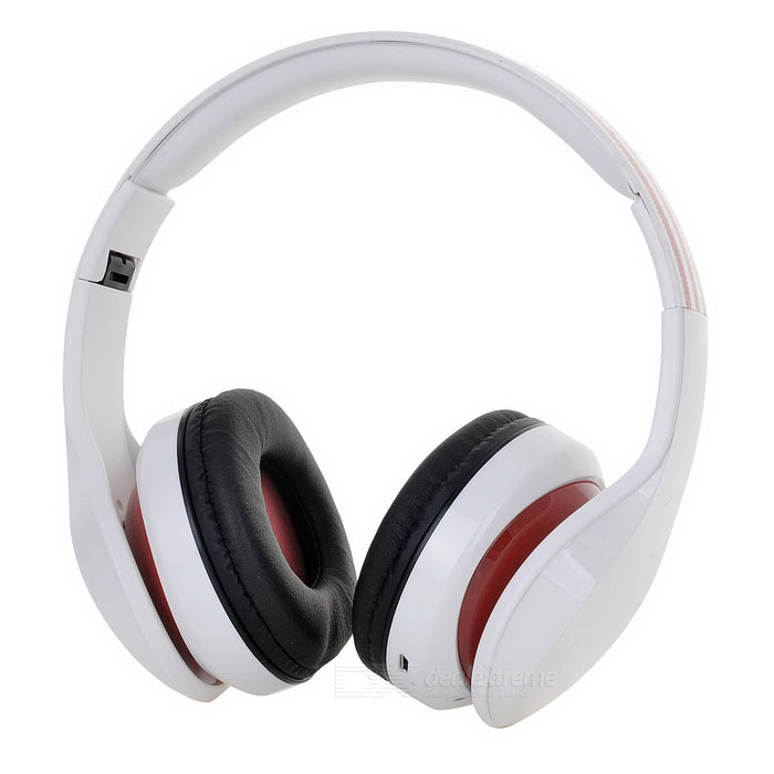 D-411 Bluetooth Headphone Headset w/ FM, Mic, TF Slot
