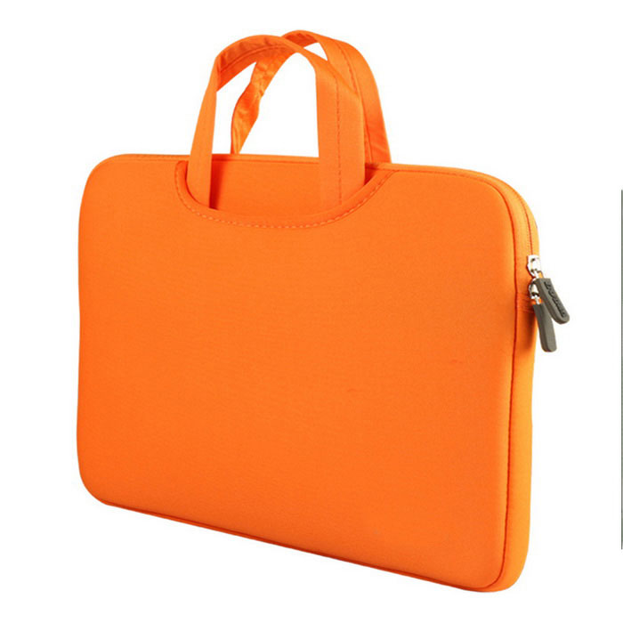 Liner Bag / Tote Bag for MacBook Pro 15 - OrangeBags and Pouches<br>Form  ColorOrangeQuantity1 DX.PCM.Model.AttributeModel.UnitShade Of ColorOrangeMaterialpolyamideCompatible SizeOthers,15 inchTypeSleeves,Tote BagsPacking List1 * Tote bag<br>