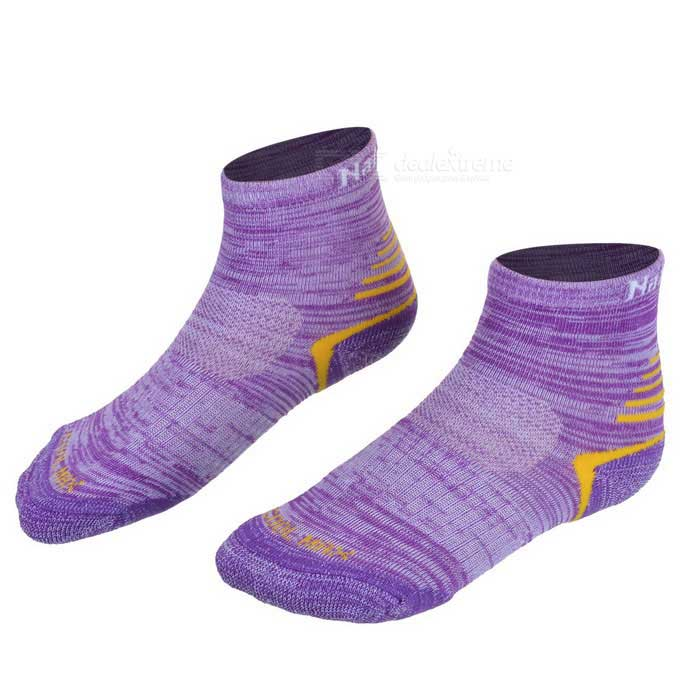 Buy NatureHike Women's Outdoor Quick Drying Coolmax Socks - Purple (Pair) with Litecoins with Free Shipping on Gipsybee.com