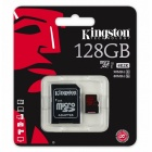 Kingston SDCA3/128GB 128 GB microSDXC - With SD Adapter