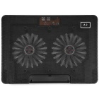 A2-Movable-Double-Fan-1200RPM-Computer-Cooling-Radiator-Black