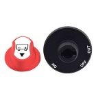 Jtron 50V DC Car Battery Power Switch - Red + Black