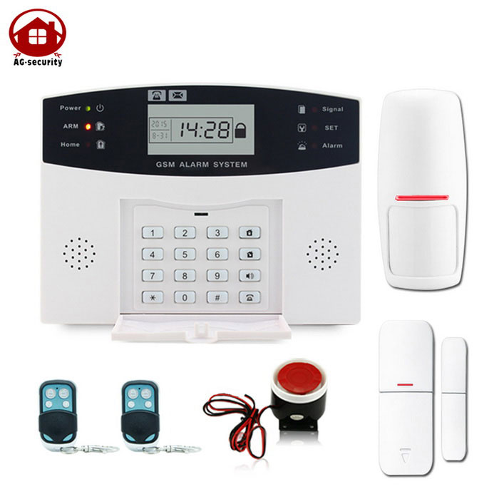 AG-security DP-500 99+8 Zone Wireless GSM SIM Card Security System