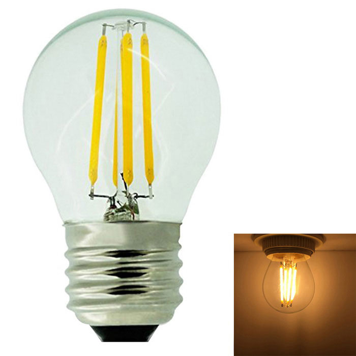 KWB E27 4W  Warm White High Light Edison Filament Light (AC 220~240V)