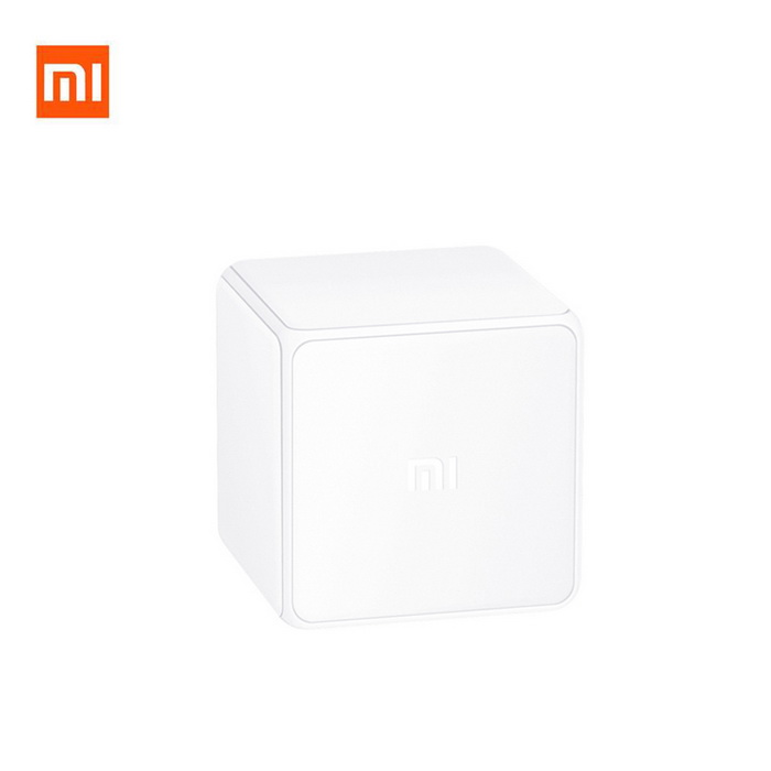 Xiaomi MFKZQ01LM Intelligent Magic Cube Controller - WhiteHome Smart Devices<br>Form  ColorWhit (Controller)ModelMFKZQ01LMQuantity1 DX.PCM.Model.AttributeModel.UnitMaterialABSRate Voltage100~240V ACPower AdapterBatteryCertificationChina Quality Certification Center CQC certificate number: CMIIT ID:2016DP0274 CQC15001126021Other FeaturesWireless protocol: Wi-Fi 2.4GHz; Internet Radio live; 16 million color night light; custom ringtone; Connect to other intelligent devices ;<br>Remote control; Working temperature: 0~40CPacking List1 * Magic cube controller1 * Chinese user manual<br>
