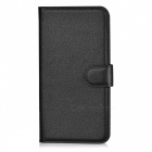 Lichee Pattern Protective Case for Sony Xperia Z1 - Black