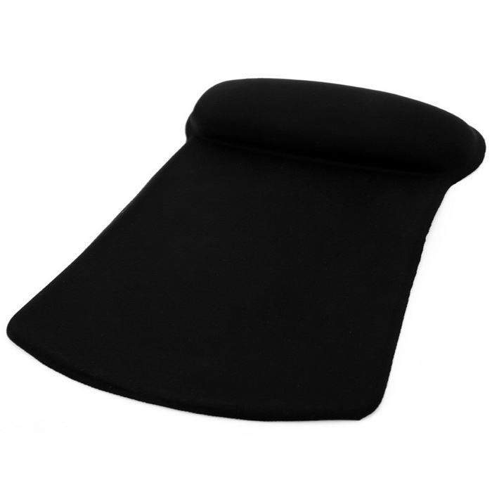 Buy Maikou MF-02 Silicone Wrist Support Mouse Pad - Black with Litecoins with Free Shipping on Gipsybee.com