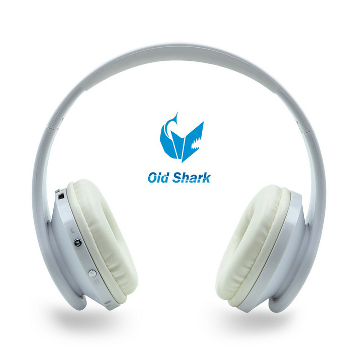 OldShark Bluetooth V4.0 Over-ear Headset for IPHONE, Samsung - WhiteHeadphones<br>Form  ColorWhiteMaterialPVCQuantity1 DX.PCM.Model.AttributeModel.UnitShade Of ColorWhiteEar CouplingHeadbandBluetooth VersionBluetooth V3.0Operating Range10mRadio TunerNoMicrophoneYesSupports MusicYesConnects Two Phones SimultaneouslyNoApplicable ProductsUniversalBuilt-in Battery Capacity 400 DX.PCM.Model.AttributeModel.UnitBattery TypeLi-ion batteryTalk Time10hour DX.PCM.Model.AttributeModel.UnitMusic Play Time10hours DX.PCM.Model.AttributeModel.UnitStandby Time180hour DX.PCM.Model.AttributeModel.UnitPower AdapterUSBPower Supply5VBrandOLDSHARKConnection3.5mm Wired,BluetoothHeadphone StyleBilateral,Headband,BluetoothWaterproof LevelIPX0 (Not Protected)Headphone FeaturesPhone Control,Noise-Canceling,Volume Control,With Microphone,Portable,Game HeadsetSupport Memory CardNoSupport Apt-XNoFrequency Response110HZ ?C 20,000HZImpedance32 DX.PCM.Model.AttributeModel.UnitDriver UnitDynamicPacking List1 * Headphone1 * Charging cable(50cm)1 * Audio cable(110cm)1 * English User Manual<br>