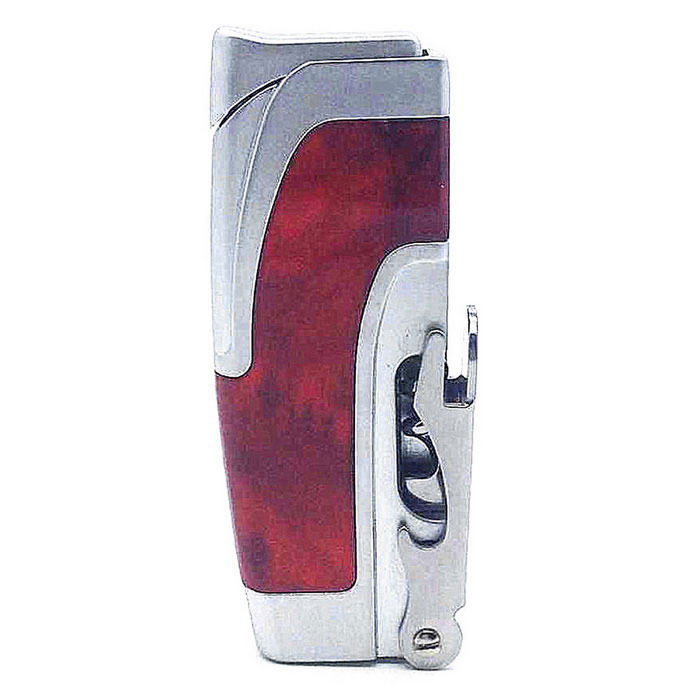 Authentic High Quality Multi-purpose Butane Jet Lighter - Red + SilverButane Jet Lighters<br>Form ColorRed + SilverModelSYS0121MaterialMetalQuantity1 DX.PCM.Model.AttributeModel.UnitShade Of ColorRedTypeGasFlame ColorBlueWindproofYesFuelButanePacking List1 * Lighter<br>