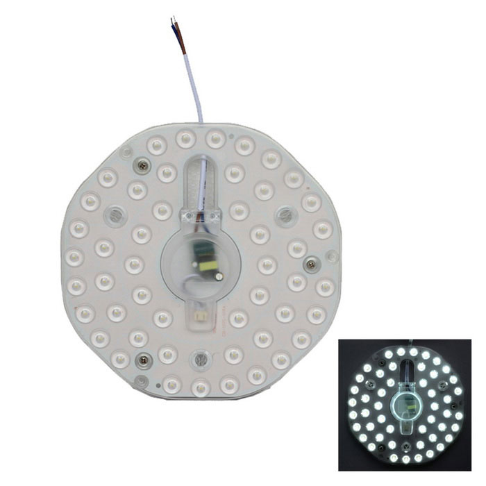 24W 2400lm 48-SMD 2835 Cold White Light Source for Ceiling Lamp