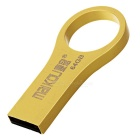 MAIKOU High Speed ​​USB 2.0 Flash Drive w / Finger Ring - gylne (64GB)