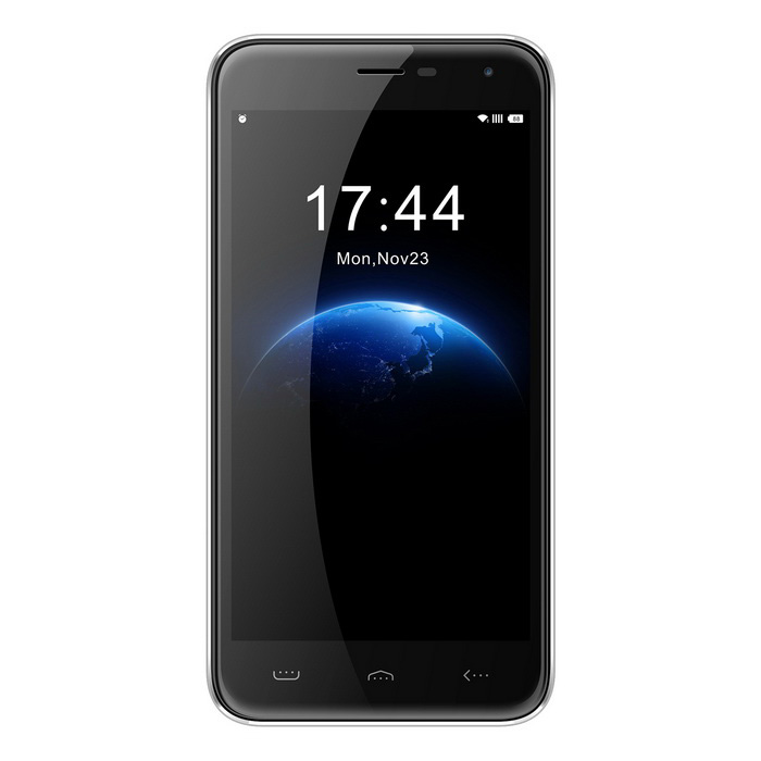 HOMTOM HT3 5 IPS HD Quad-Core Android 5.1 3G Smartphone - SilverAndroid Phones<br>Form  ColorSilverRAM1GBROM8GBBrandOthers,(HOMTOM)ModelHT3Quantity1 DX.PCM.Model.AttributeModel.UnitMaterialPlasticShade Of ColorSilverTypeBrand NewPower AdapterEU PlugNetwork Type2G,3GBand Details2G: GSM 850/900/1800/1900MHz  3G: WCDMA 900/2100MHzData TransferGPRSNetwork ConversationOne-Party Conversation OnlyWLAN Wi-Fi 802.11 a,b,g,nSIM Card Quantity2Network StandbyDual Network StandbyGPSYesNFCNoBluetooth VersionBluetooth V4.0Operating SystemAndroid 5.1CPU Processor1.3GHzCPU Core QuantityQuad-CoreLanguageEnglish, Spanish, Portuguese (Brazil), Portuguese (Portugal), Italian, German, French, Russian, Arabic, Malay, Thai, Greek, Ukrainian, Croatian, Czech, Simplified Chinese, Traditional Chinese etc.Available Memory4GBMemory CardSupportMax. Expansion Supported64GBSize Range5.0~5.4 inchesTouch Screen TypeCapacitive ScreenScreen Resolution1280*720Screen Size ( inches)5.0Screen Edge2.5D Curved EdgeCamera Pixel5.0MPFront Camera Pixels2.0 M DX.PCM.Model.AttributeModel.UnitFlashYesTalk Time12 DX.PCM.Model.AttributeModel.UnitStandby Time200 DX.PCM.Model.AttributeModel.UnitBattery Capacity3000 DX.PCM.Model.AttributeModel.UnitBattery ModeReplacementfeaturesWi-Fi,GPS,FM,BluetoothSensorG-sensor,Proximity,Accelerometer,GestureWaterproof LevelIPX0 (Not Protected)Shock-proofYesI/O InterfaceMicro USB,3.5mmRadio TunerFMCertificationFCCReference Websites== Will this mobile phone work with a certain mobile carrier of yours? ==Packing List1 * Cellphone1 * EU Plug Power Adapter (100~240V, 50/60Hz)1 * Micro USB Cable (100cm)1 * User Manual - English<br>
