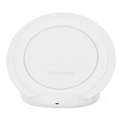 Qi Standard Wireless Charger Support Fast Charge - White