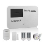 GSM Langaton Smart Alarm Systems w / Learning Code - Valkoinen (EU Plug)