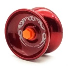Lite Zinc Alloy Bearing Type Yoyo Player Toy - Red