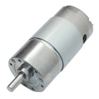 High Torque Diameter37mm DC 24.0V 250rpm Precision Gear Motor - Silver