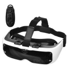 Virtual Reality 3D Glasses + Console Bluetooth - Blanc + Noir
