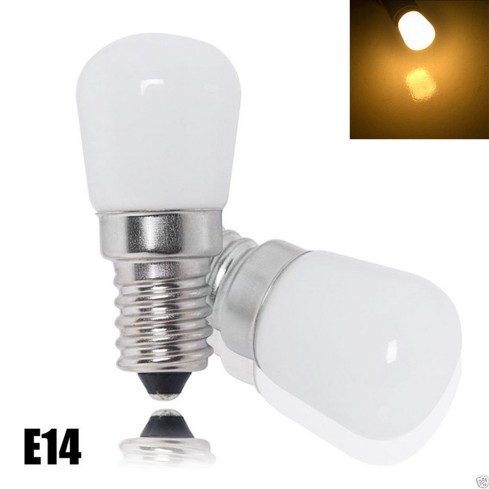 JIAWEN E14 2W LED 3000-3200K 200lm Warm White Light Refrigerator Bulb