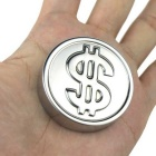 Dollars Coin Shaped 304 Stainless Steel Fast Frozen Ice Block - Silver