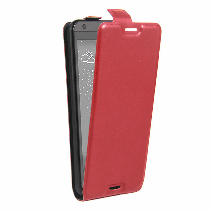 Retro Style Up-Down Flip-Open PU Case for HTC 530 / 630 - RedLeather Cases<br>Form  ColorRedModel001MaterialPUQuantity1 DX.PCM.Model.AttributeModel.UnitShade Of ColorRedCompatible ModelsHTC 530/630FeaturesAnti-slip,Dust-proof,Shock-proof,Abrasion resistance,Easy-to-removePacking List1 * Case<br>