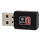 Scheda di rete wireless mini 150Mbps USB - nero