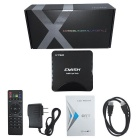 EMISH X750 Smart TV Box w / 1GB di RAM, 8GB di ROM - nero (US spine)
