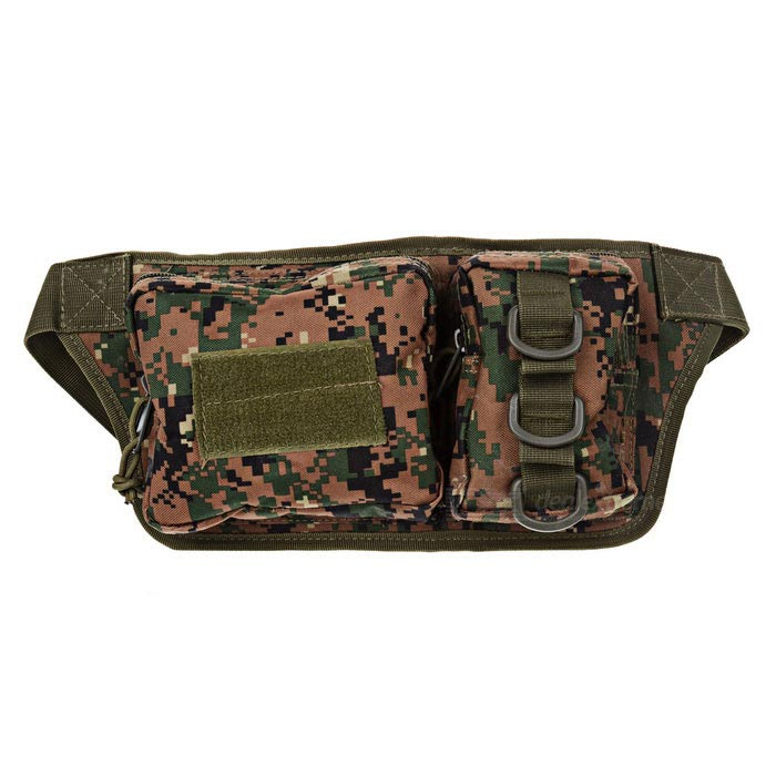 CTSmart Outdoor Multifunctional Waist Pack - Digital Camouflage