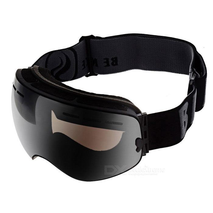 BE NICE SNOW3100 Anti-Fog Spherical Lens Skiing Goggles - SilverGoggles<br>Lens ColorSilverFrame ColorBlackModelSNOW3100Quantity1 DX.PCM.Model.AttributeModel.UnitShade Of ColorSilverGenderUnisexSuitable forAdultsLens MaterialPC + UVLens Width18 DX.PCM.Model.AttributeModel.UnitFrame MaterialTPUFrame Height10.1 DX.PCM.Model.AttributeModel.UnitOverall Width of Frame22.5 DX.PCM.Model.AttributeModel.UnitBridge Width5 DX.PCM.Model.AttributeModel.UnitCertificationCEPacking List1 * Goggles1 * Pouch1 * Case<br>