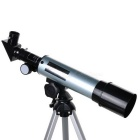 F36050 Outdoor 90X Astronomical Telescope for Camping - Silver + Black