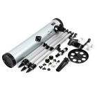 F70076 Outdoor 350X Astronomical Telescope for Camping - Silver