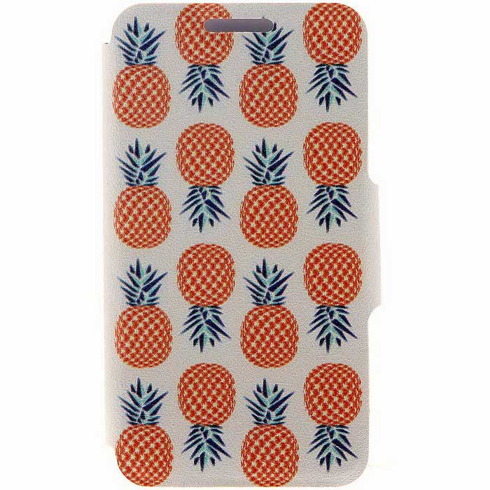 SZKINSTON Pineapple Pattern PU Case for IPOHONE 6/6S - White + RedLeather Cases<br>Form  ColorWhite + Red + Multi-ColoredModelKST1606004Quantity1 DX.PCM.Model.AttributeModel.UnitMaterialPU Leather + PCCompatible ModelsIPHONE 6S,IPHONE 6StyleFull Body CasesDesignMixed Color,Graphic,With Stand,Geometric Texture,Card SlotAuto Wake-up / SleepNoPacking List1 * Case<br>