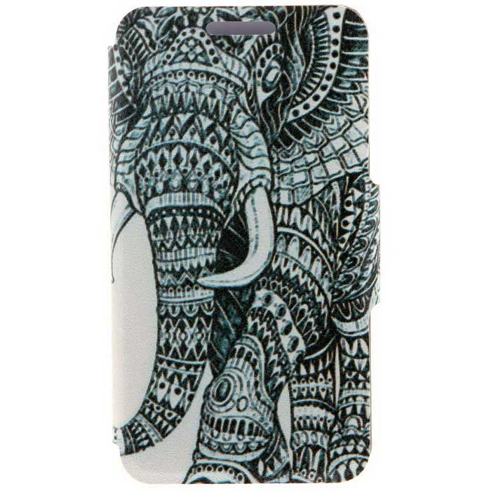 SZKINSTON Elephant Pattern PU Leather Case for iPhone 6 / 6S - WhiteLeather Cases<br>Form  ColorWhite + BlackModelKST1606005Quantity1 DX.PCM.Model.AttributeModel.UnitMaterialPU Leather + PCCompatible ModelsIPHONE 6S,IPHONE 6StyleFull Body CasesDesignMixed Color,Graphic,With Stand,Animal Skin Texture,Cartoon,Card SlotAuto Wake-up / SleepNoPacking List1 * Case<br>