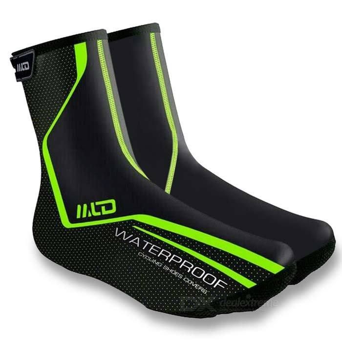 Buy MLD Reflective Waterproof Snowproof Shoes Covers - Green (Size 42) with Litecoins with Free Shipping on Gipsybee.com