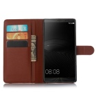 Housse de protection Full Body Litchi Pattern pour Huawei Compagnon 8 - Brown