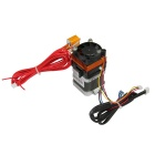 3D Printer New MK8 Extruder w/ 1.75mm Filament 0.3mm Nozzle - Black
