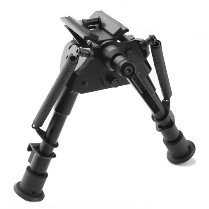 Buy 6-9 Inch Tactical Pica-tinny Rail Bipod Mount Stand for Sniper with Litecoins with Free Shipping on Gipsybee.com